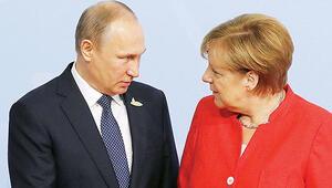 Merkel ve Putin Suriye'yi görüşecek