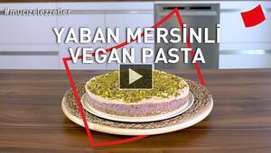Yaban Mersinli Vegan Pasta