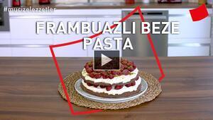 Frambuazlı Beze Pasta Tarifi