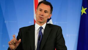 İngiliz Bakan Hunt: AB'nin tutumu değişmezse kaosa hazır olun