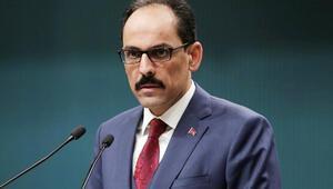 Cumhurbaşkanlığı Sözcüsü İbrahim Kalından açıklama