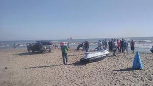 Karasuda denizde kaybolan polis aranıyor