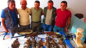 Kuş cennetinde kaçak avcıya 10 bin lira para cezası