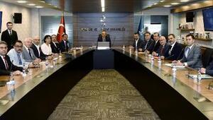 Nevşehir heyeti, Bakan Ersoya, Kapadokya Destinasyon Projesini anlattı
