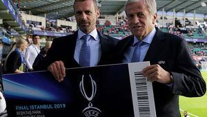 UEFA Başkanı Ceferin: İstanbula gitmek için sabırsızlanıyorum