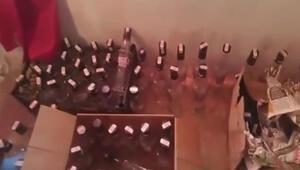 Ölüm şişelerine baskın