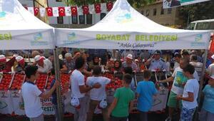 Boyabatta domates festivali düzenlendi