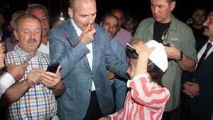 Bakan Soylu, Kırıkkaledeki denetlemeleri takip etti (3)