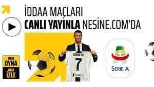 Ronaldonun ilk Serie A maçı CANLI Hem oyna, hem izle...