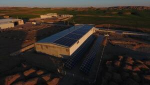 Kahta OSBde ilk güneş enerji santralleri devrede