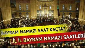 2018 Bayram namazı saati... Bayram namazı saat kaçta kılınacak