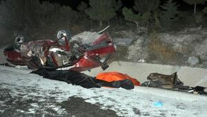 Afyonkarahisar'da iki otomobil çarpıştı: 3 ölü, 6 yaralı
