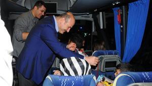 Bakan Soylu, Afyonkarahisarda trafik uygulamasına katıldı (2)