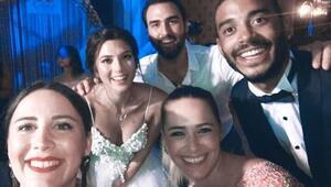 Survivor Gizem Memiç ile Burak Mert evlendi