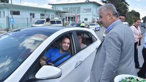 Kütahya Valisi Nayirden trafik uygulama noktalarına ziyaret