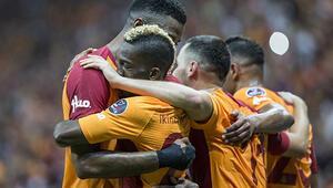 Galatasaray evinde Göztepeyi yendi
