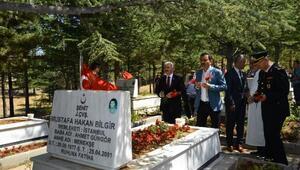 Kırşehir'de Kurban Arefesinde Şehitlik ziyareti