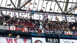 Feyenoord maçında harika görüntüler