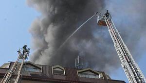 Turizm cennetinde otelde yangın paniği... Tatilciler dışarıya kendilerini zor attı