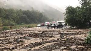 Trabzonda şiddetli yağış