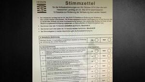Hessen Eyaleti idam cezasını oylayacak