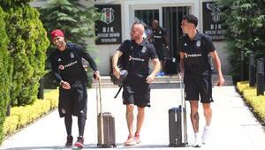 Beşiktaşın Sırbistana yolculuğu başladı