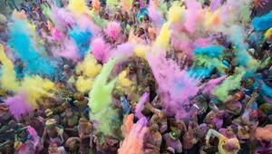Koştukça renk değiştiren etkinlik