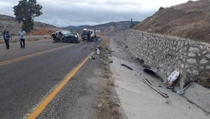 Kelkitte kaza: Anne ile kızı öldü, baba ve 3 çocuğu yaralı
