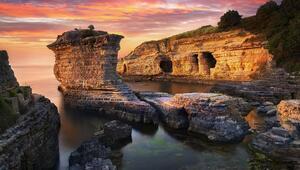 Kocaelinin doğa harikası Pembe Kayalar