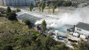 İstanbulda asit kazanı paniği... Vatandaşlar tahliye ediliyor