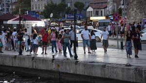 Mutlu şehir Sinopta tatilci patlaması/ Ek Fotoğraflar