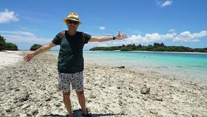 Uzun ve mutlu yaşayan  sıcak insanların sıcak adası