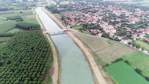 Kenti taşkınlardan koruyacak Kanal Edirne yıl sonunda tamam
