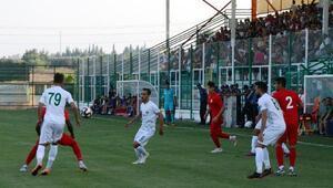 Antalyaspor ile Serikspor berabere