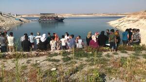 Baraj gölüne giren Suriyeli genç boğuldu