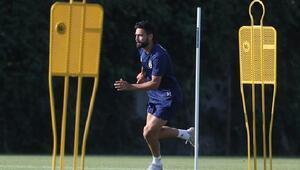 Michael Frey, Fenerbahçede ilk antrenmanına çıktı