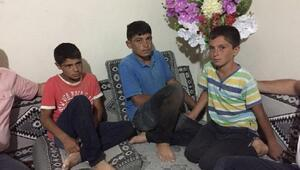 Kayıp 3 çocuk, birbirlerine sarılmış halde bulundu