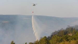 Kastamonudaki orman yangını 18 saatte söndürüldü, 20 hektar yandı