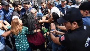 fotoğraflar// Cumartesi anneleri eylemine polis müdahalesi