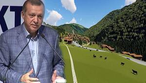 Cumhurbaşkanı Erdoğan istedi, yeni Ayder Yaylası böyle olacak