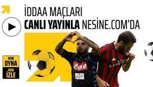 Napoli-Milan maçı CANLI Hakan Çalhanoğlu...
