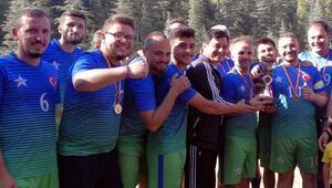 Turnuvanın şampiyonu Gürlevik