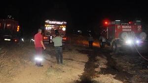 Turgutluda 6 noktada yangın; 1 hektar tarım alanı ve 2 hektar makilik kül oldu