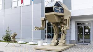 Rus silah şirketi Kalaşnikofun yeni savaş robotu, ülkede alay konusu oldu