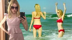 Wilma Ellesten tatil paylaşımı Dikkat çeken detay
