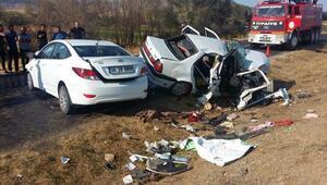 Feci kazada 1 ölü 7 yaralı