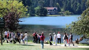 Bolunun turizm merkezleri bayram tatilinde ilgi gördü