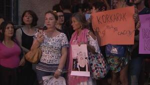 Beyoğlundaki cinayet protesto edildi