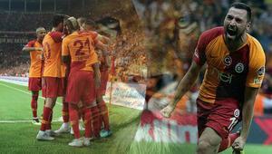 Gelene gidene bakmadan... Ligin kralı Aslan Galatasaraydan Alanyaspora fark