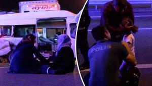 İstanbulda korkunç kaza Küçük kız şoka girdi